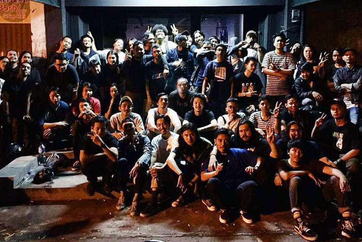 One big family: Indie label Hema Records aims to put Surakarta's underground bands on the map in a big way.