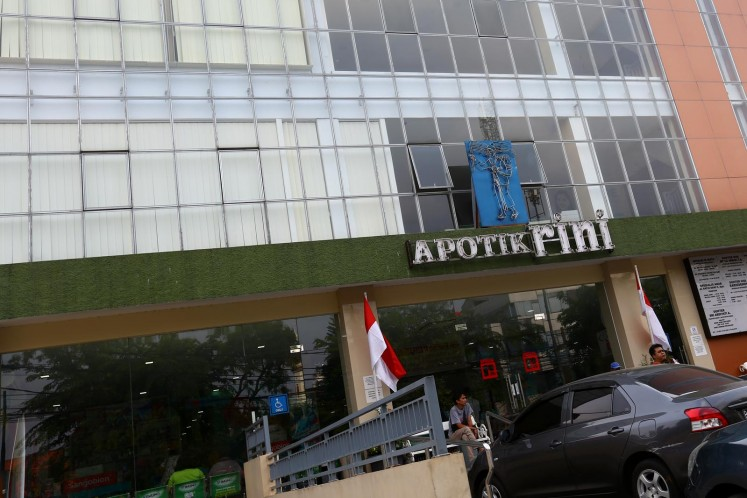 Apotik Rini, the area's oldest pharmacy, is open 24 hours and boasts a wide range of medicines.