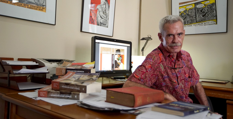 John McGlynn:The uphill climb for Indonesian literature