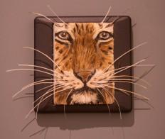 Tiger by Indonesian artist Heri Winarno. JP/Tarko Sudiarno