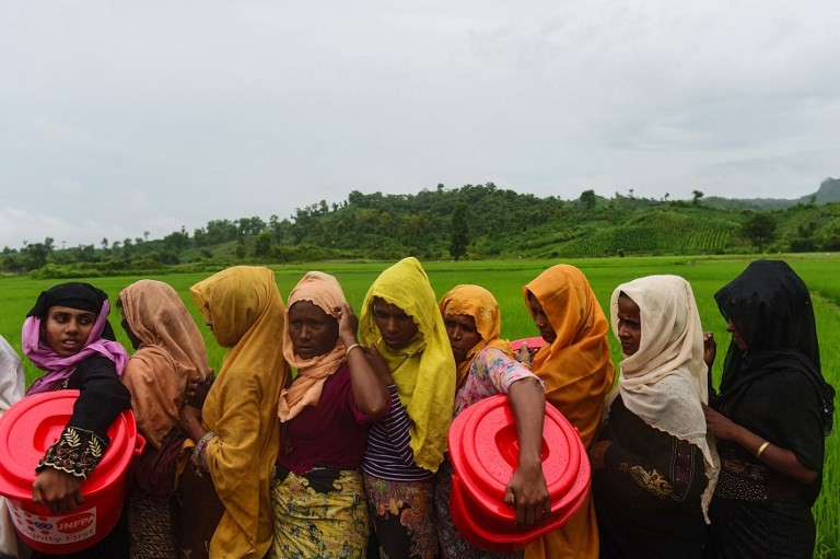 'Raped, killed because they are Rohingya'