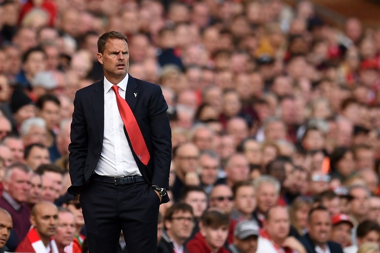 De Boer appointed Netherlands boss after being sacked by MLS club