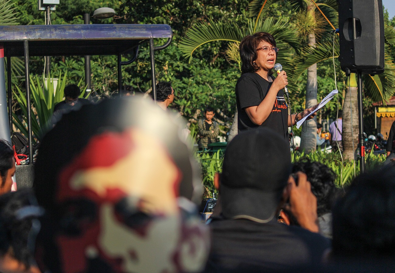 Historic abuse cases left out in Jokowi-UN rights commissioner meeting