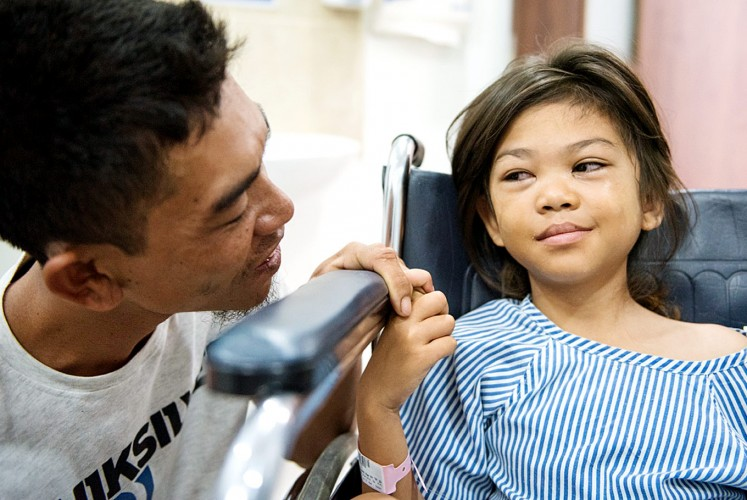 More than 1 million have been screened and treated for eye defects through the John Fawcett Foundation.