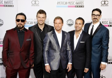 Backstreet Boys release new single 'Don't Go Breaking My Heart'