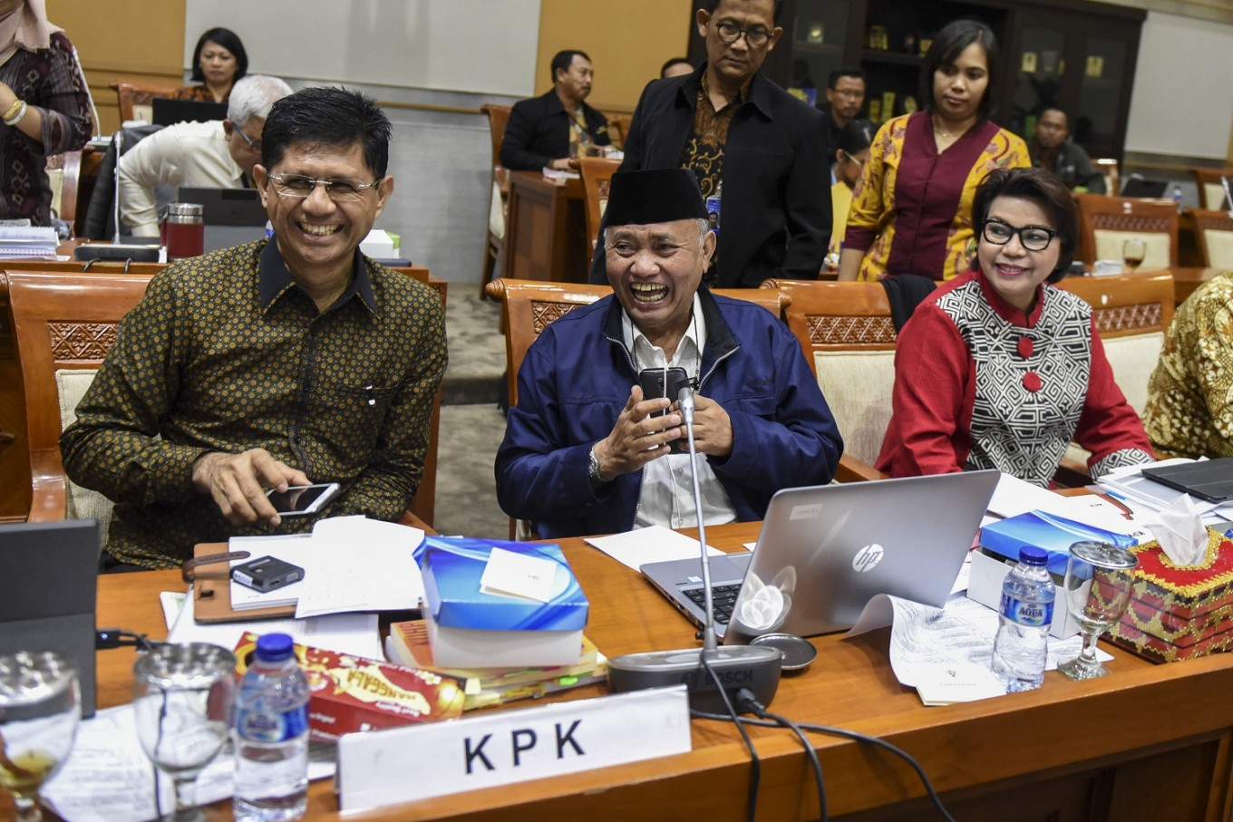 KPK rejects House invitation to attend hearing
