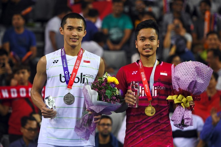 Anthony Ginting wins all-Indonesian Korea Open men's final
