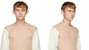 Calvin Klein's $2,100 see-through sweater popular with men