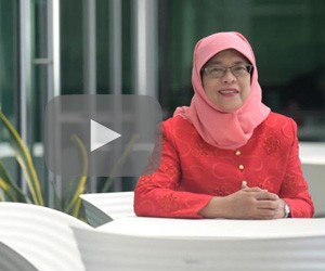 Getting to know Halimah Yacob, Singapore's first female president