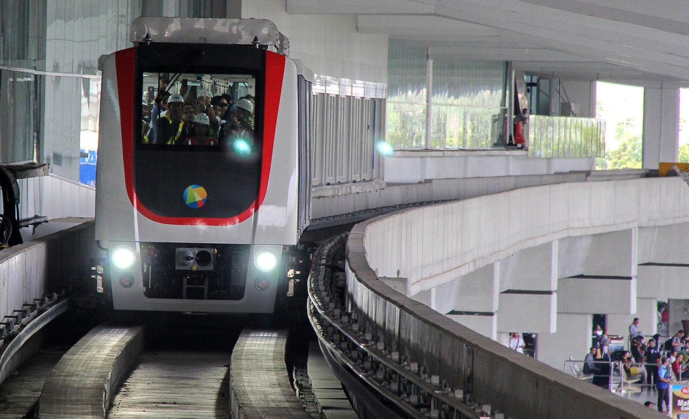 Soekarno–Hatta International Airport Skytrain is officially launched