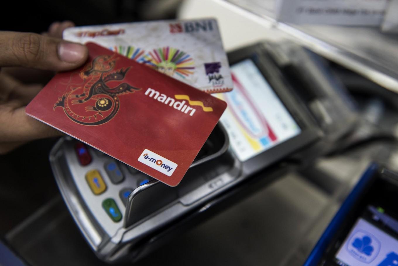 Bank Mandiri controls 80% of electronic money in H1