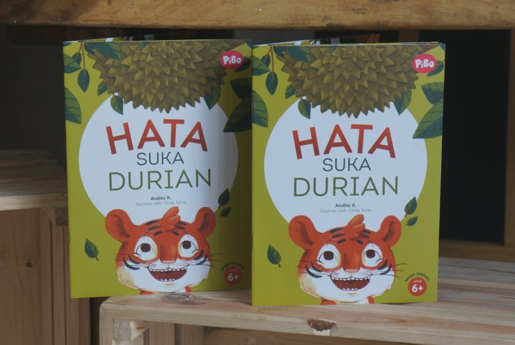 PiBo also releases some of its e-books into printed version that can be delivered to its customers, one of them is 'Hata Suka Durian ' (Hata Loves Durian).