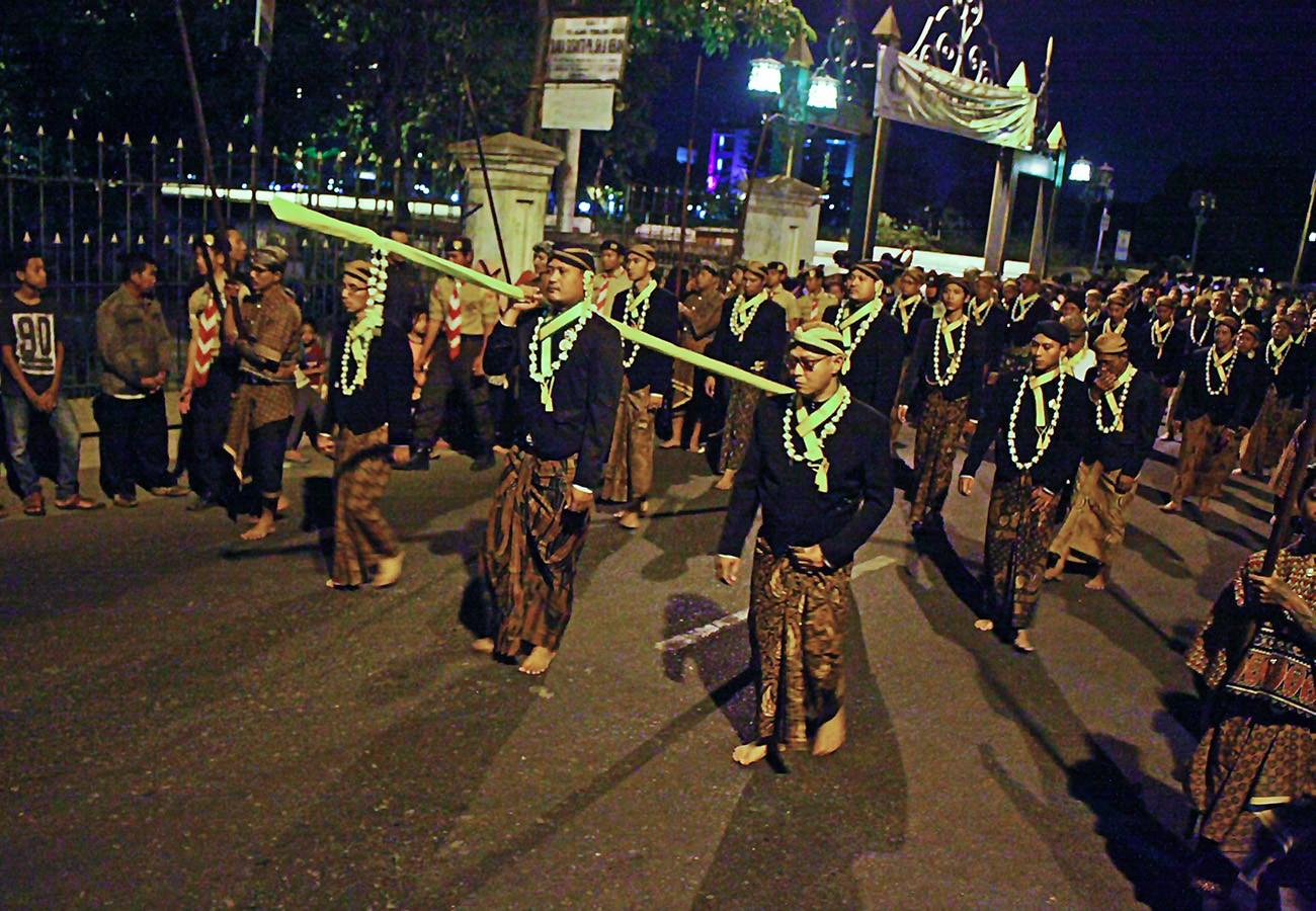 Thousands celebrate Javanese New Year in Surakarta