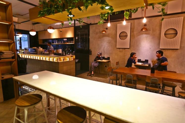 Domadona Coffee on Jl. Wijaya I.