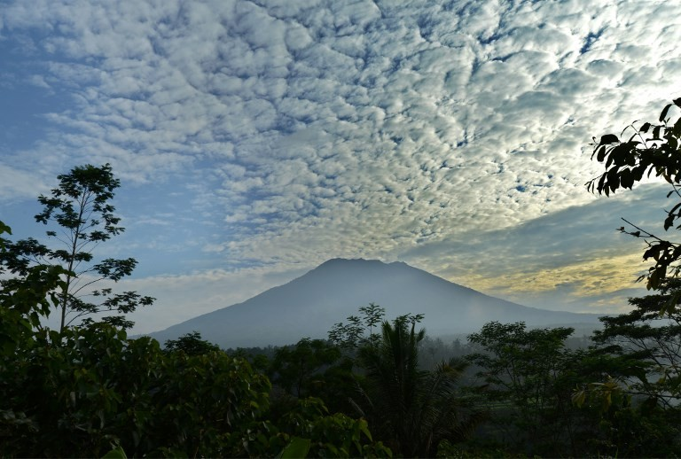 20 volcanoes across Indonesia currently showing above normal activity