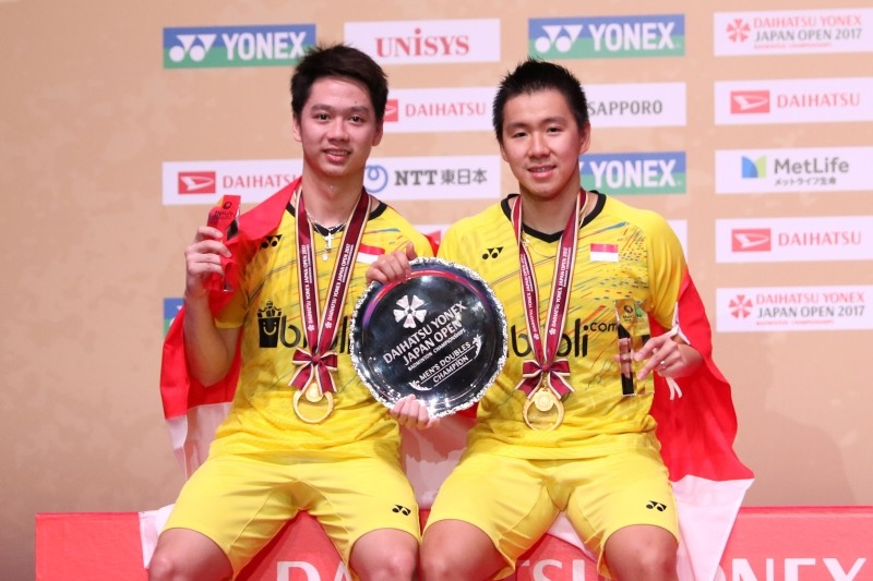 Marcus and Kevin win Japan Open superseries