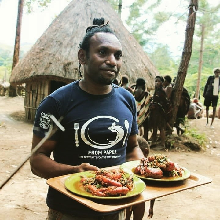Charles Toto is the man behind the Jungle Chef Community.