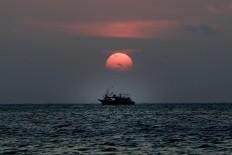 As the sun goes down: Dusk at Ujung Kulon National Park (TNUK) in Pandeglang regency, Banten. JP/Dhoni Setiawan