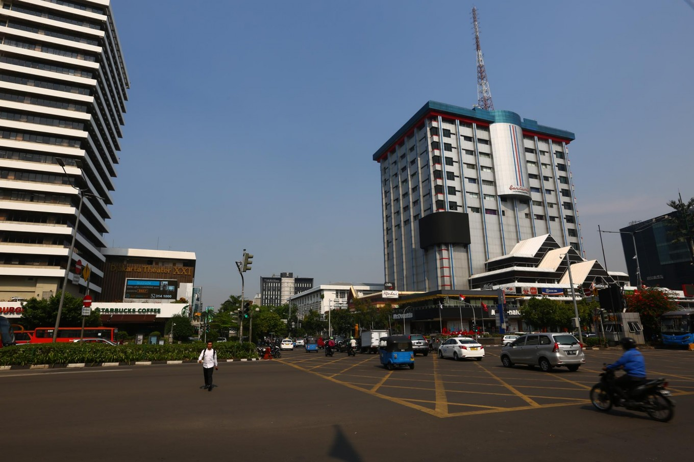 Police apologize for closing Jl.M.H.Thamrin for anti-terrorism movie production