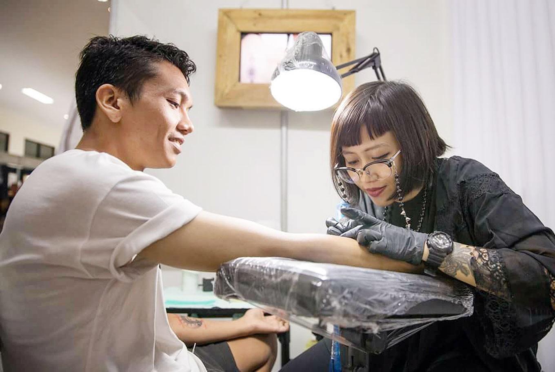 Female tattoo artists flourishing in Bali