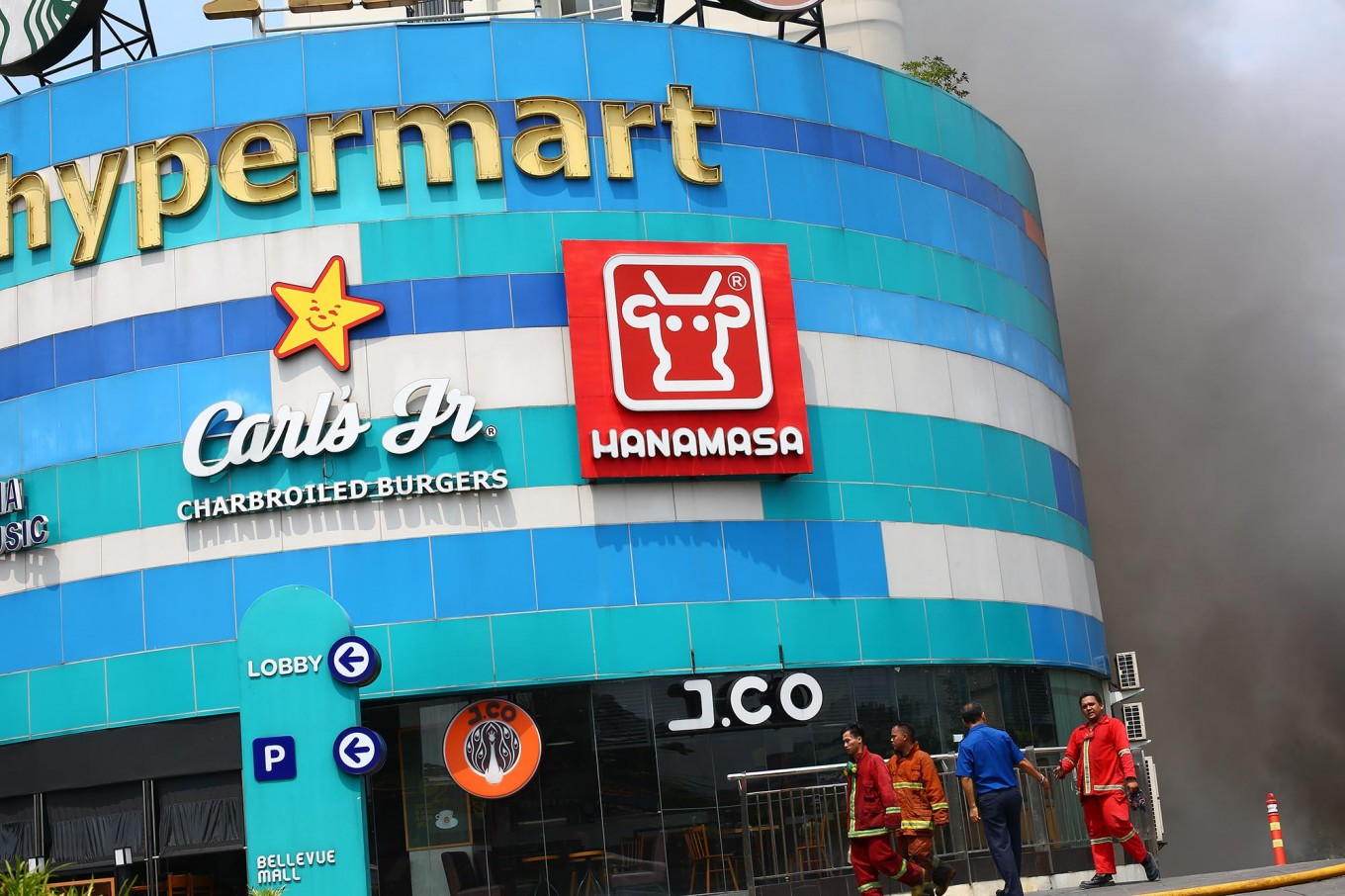 Depok Bellevue mall fire declared force majeure