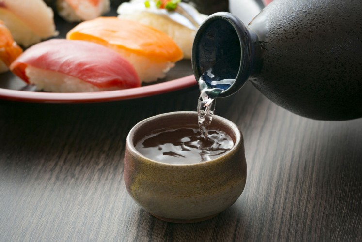 Sake is a fermented liquor made of rice and is produced by mixing processed rice with water, 'koji' mold and sake yeast.