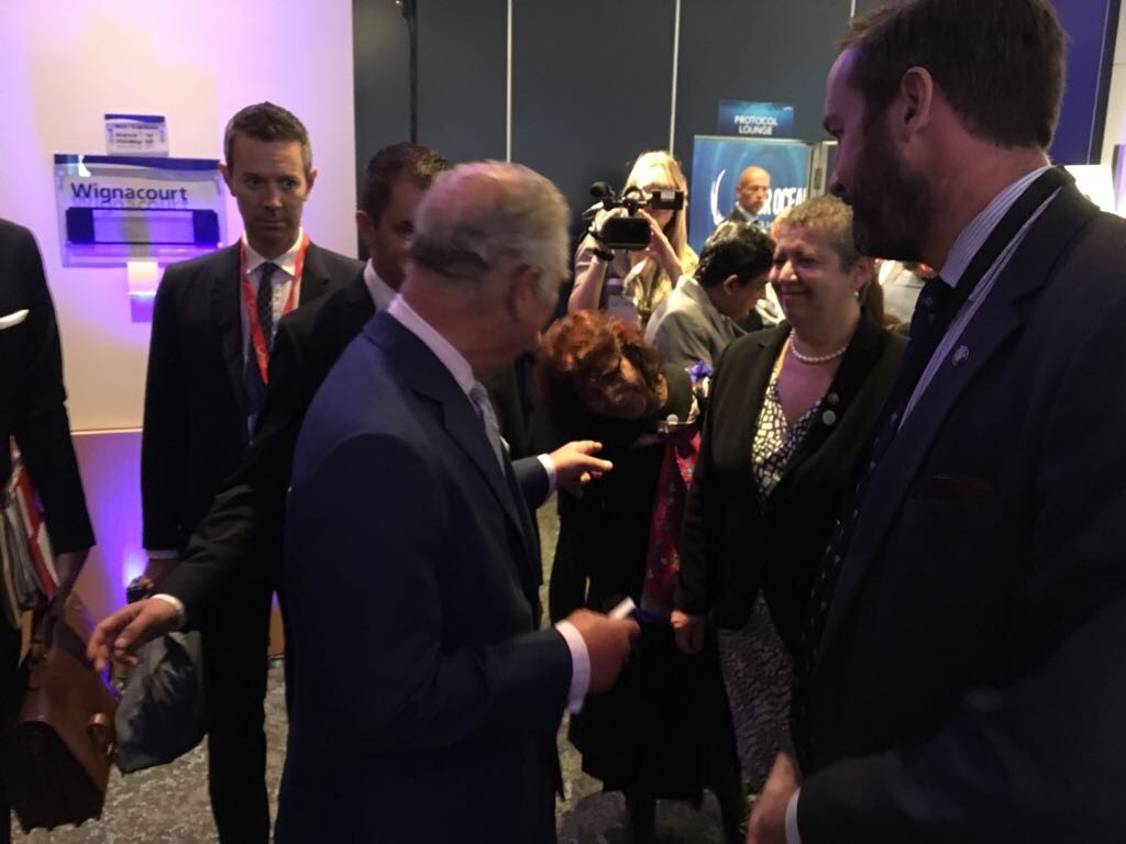 Prince Charles to Susi: You are a pioneer