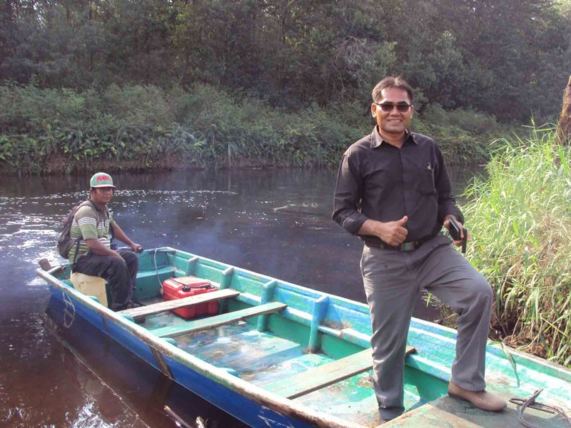 Business success flows for former illegal logger
