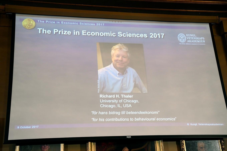Richard Thaler of US wins Nobel Economics Prize