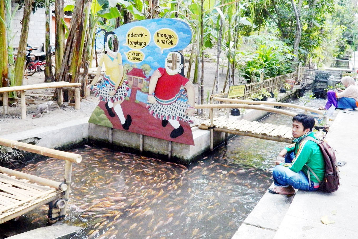 Villages drive waste management but waste persists in urban Yogya
