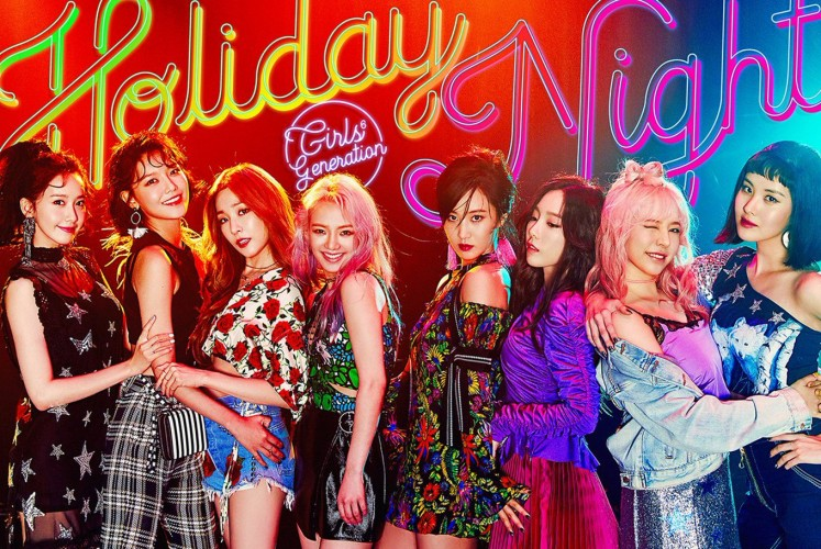 Girls' Generation on its sixth full album 'Holiday Night' that was released on Aug. 7, 2017.