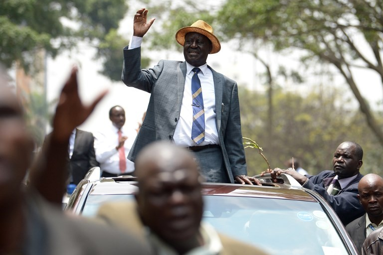 Kenyan opposition leader Odinga abandons poll re-run