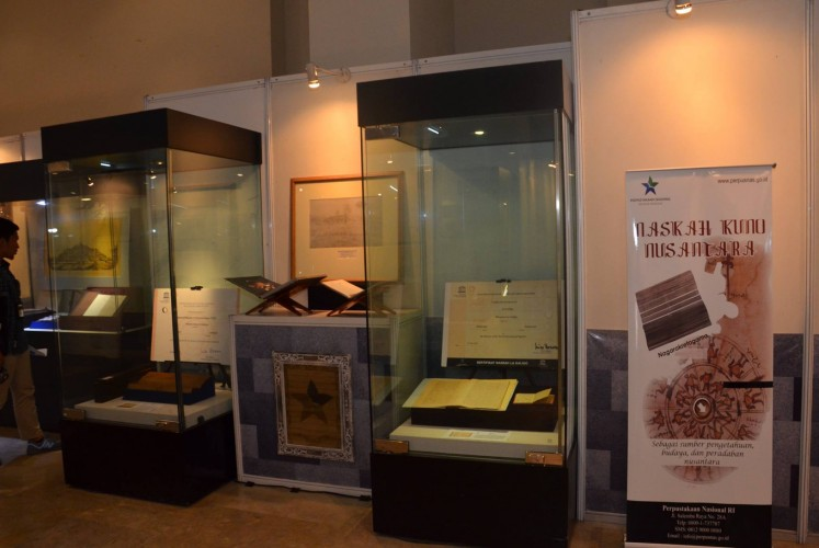 Some of the archives showcased in the exhibition.