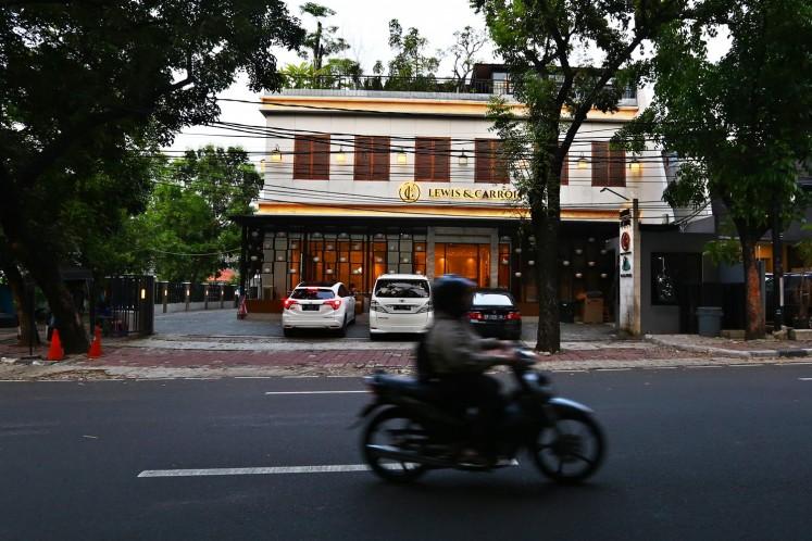 Lewis & Carrol on Jl. Bumi in Kebayoran Baru, South Jakarta.