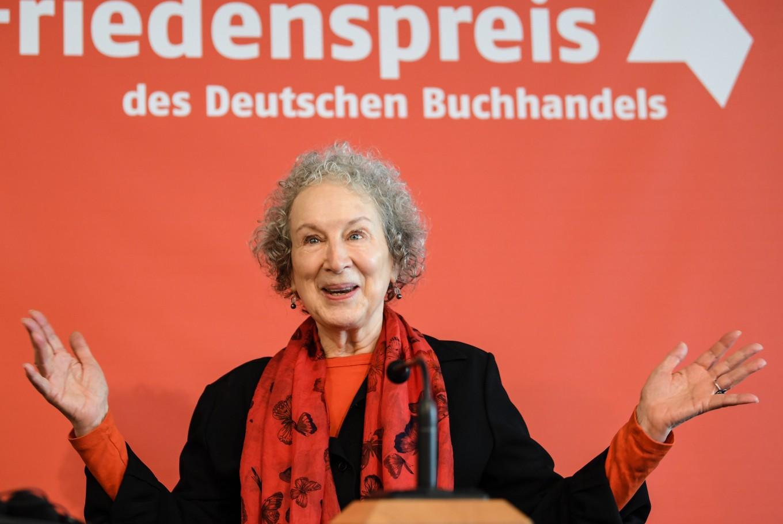 Margaret Atwood says Trump era 'feels like 1930s'