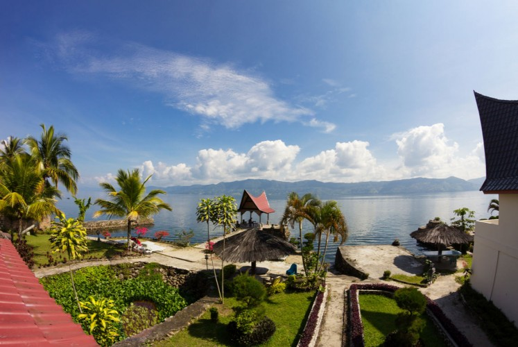 A view of Lake Toba, listed as a Special Economic Zone and a priority destination.