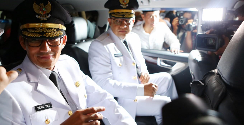 Jakarta greets the new boss