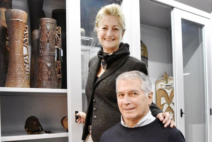 Mariangela Fardella and Giorgio Azzaroli