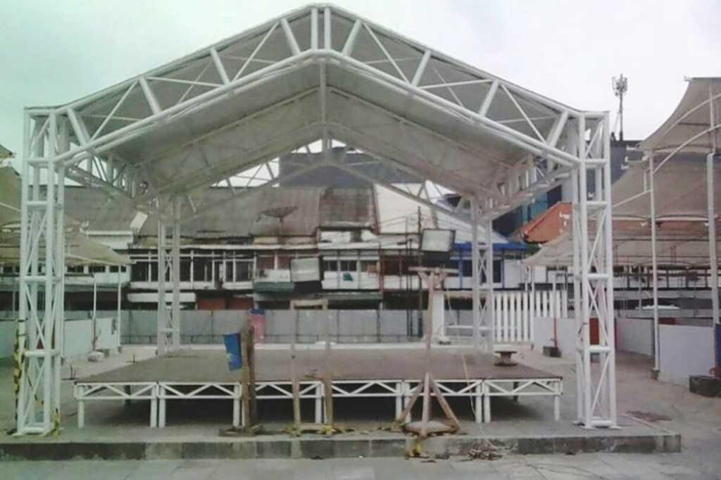 No budget, no art performance in Taman Intan