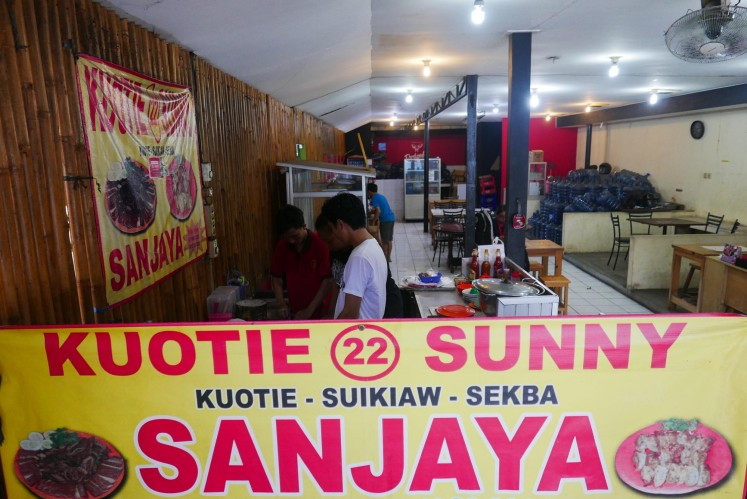 Kuotie 22 Sunny Sanjaya is a good place to grab a plate or two of pork dumplings.