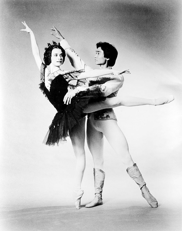 Classic: Li Cunxin and Janie Parker perform in Ben Stevenson's Swan Lake, regarded as one of the greatest ballets of all time.