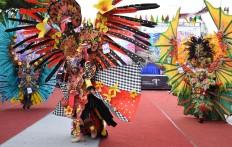 "The seventh Malang Flower Carnival features 214 participants exploring the theme of ""Nusantara Flora Exotica"". JP/Aman Rochman"