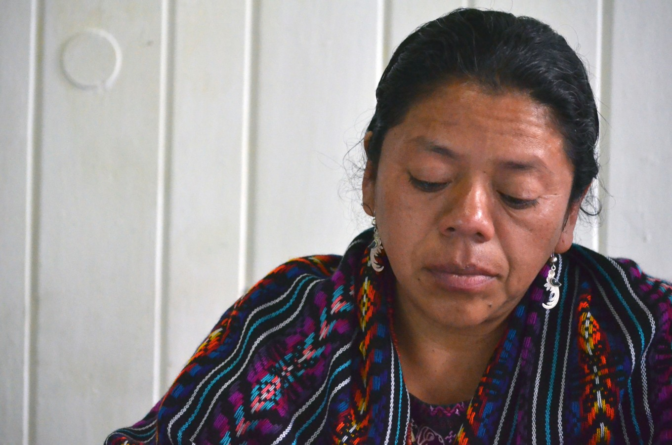 Thanks, mom, says Guatemala indigenous leader up for rights prize