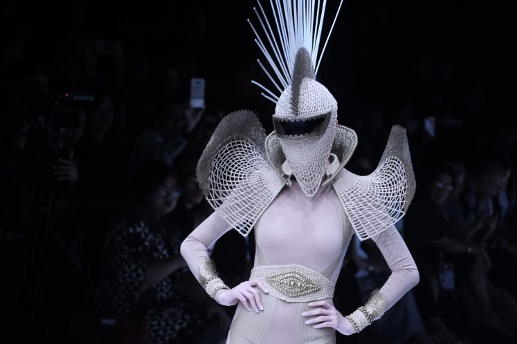 The Jakarta Fashion Week 2018 opening show presented down the runway 11 chosen Indonesian designers to represent the festival's theme this year,