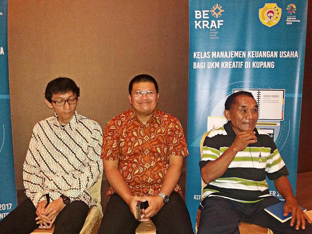 E. Nusa Tenggara creative economy players get financial training
