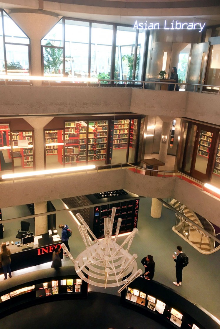 New addition: The Asian Library is located on the third floor of Leiden University Library.