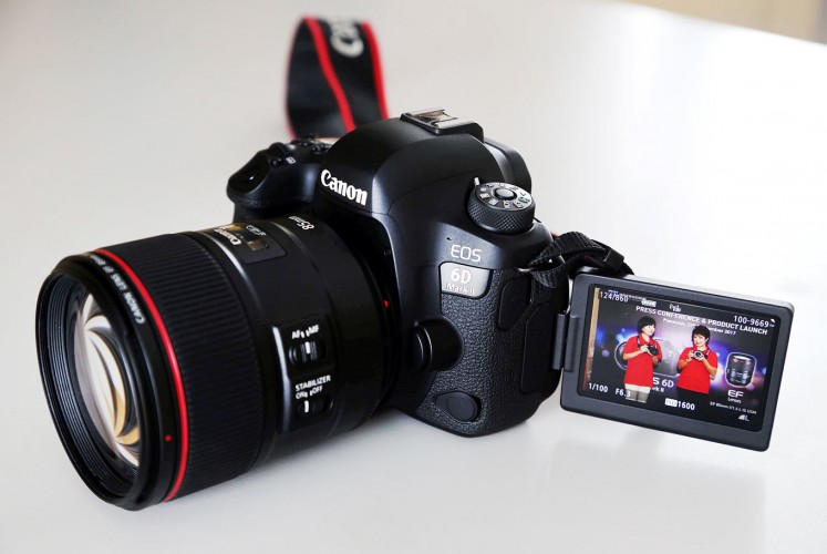 Canon introduces upgraded EOS 6D DSLR - Science & Tech - The