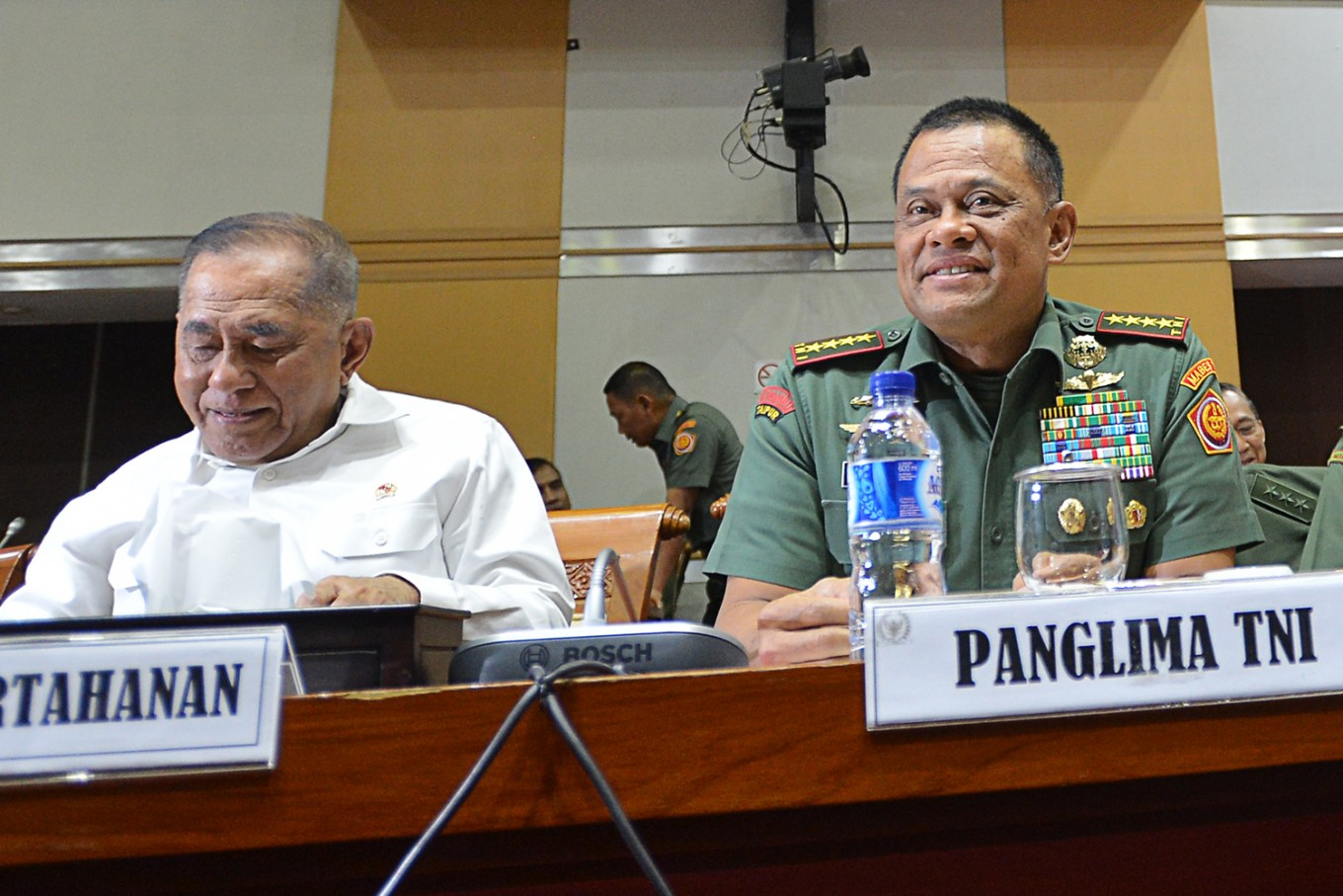 New flight booked for Gatot but he chooses not to fly: US
