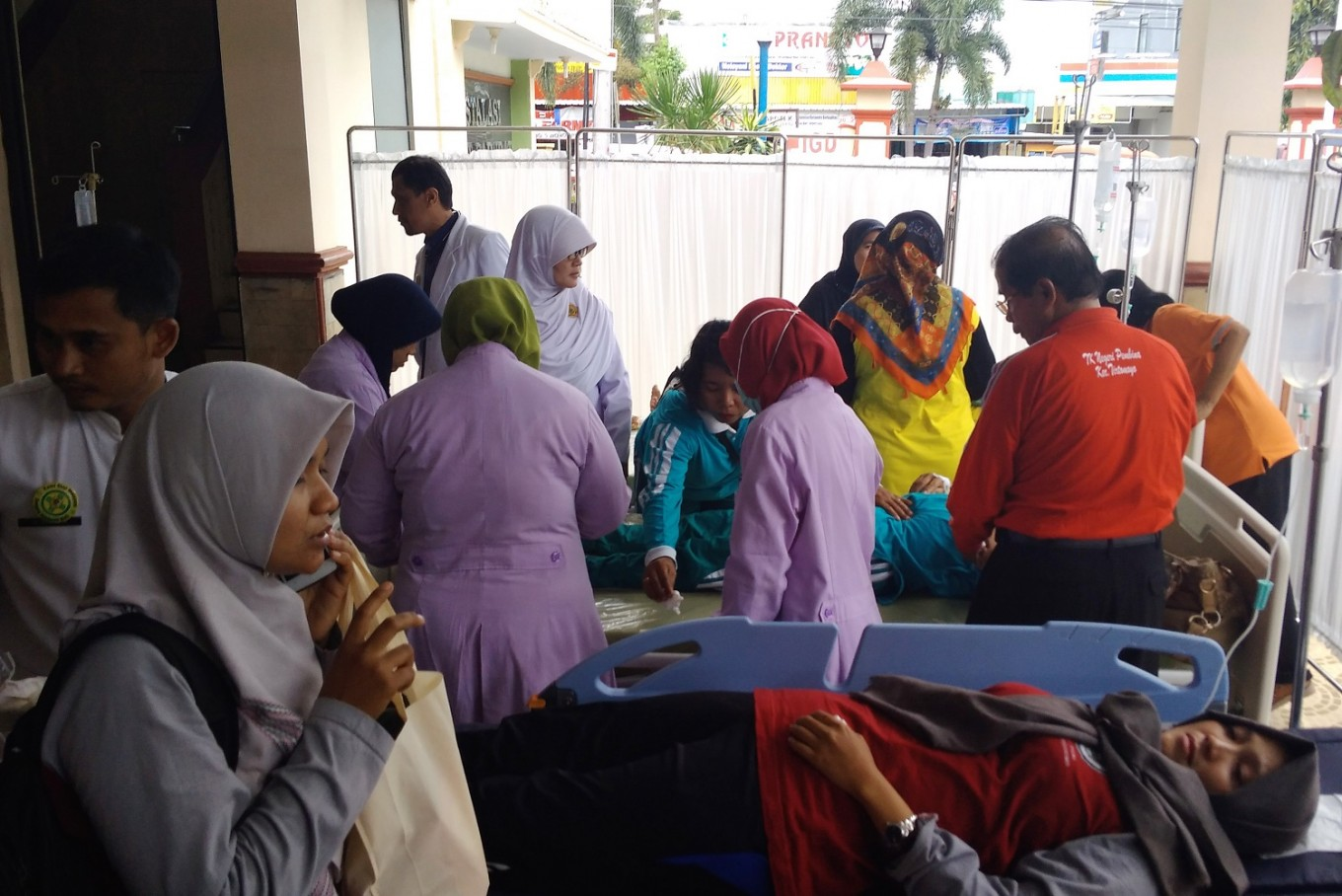 Toddlers in Surakarta hospitalized with food poisoning