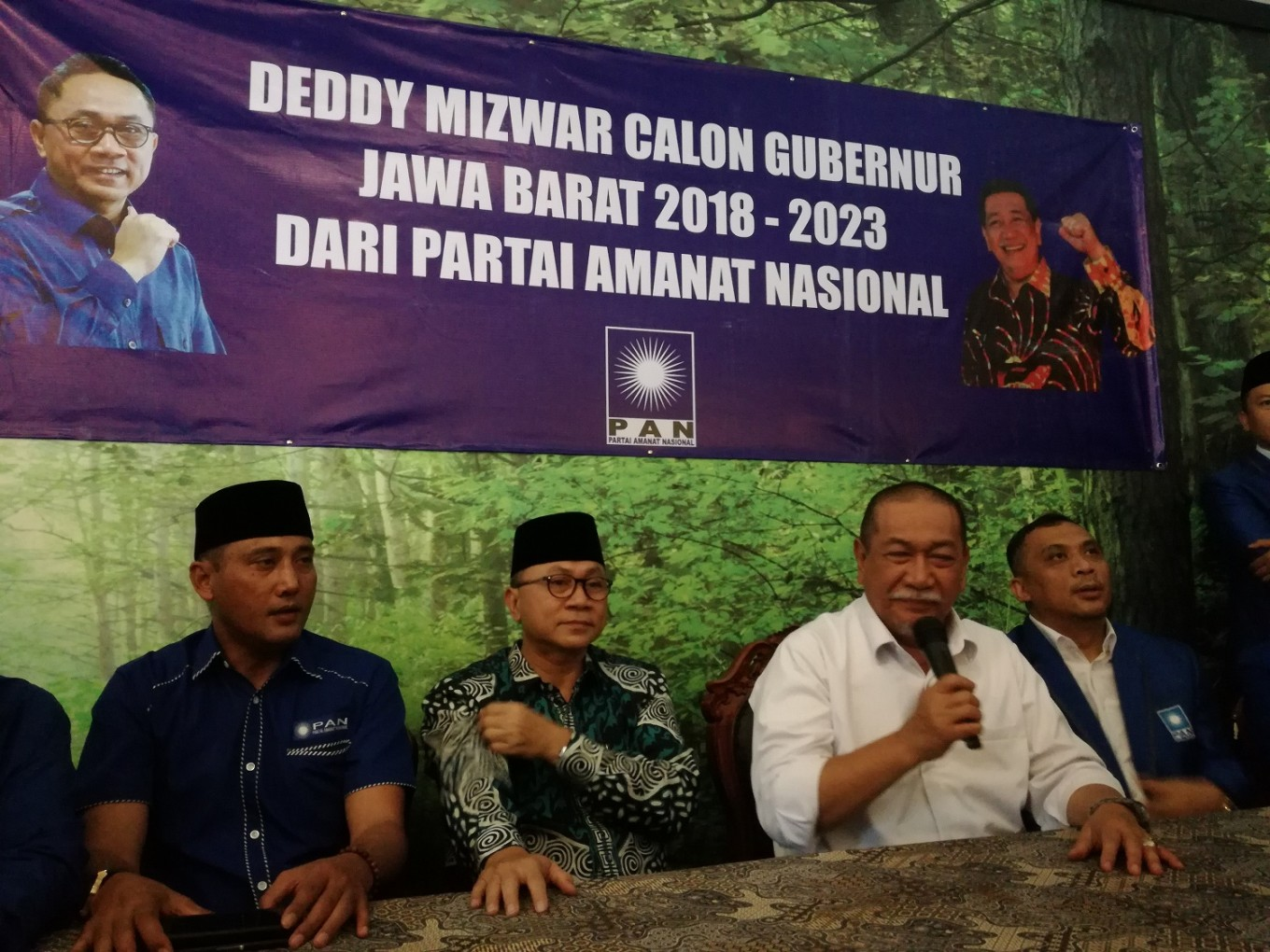 PAN opens door to possible coalition with PDI-P in W. Java race